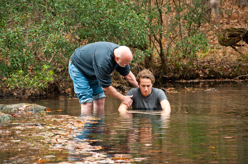 Outdoor Baptism