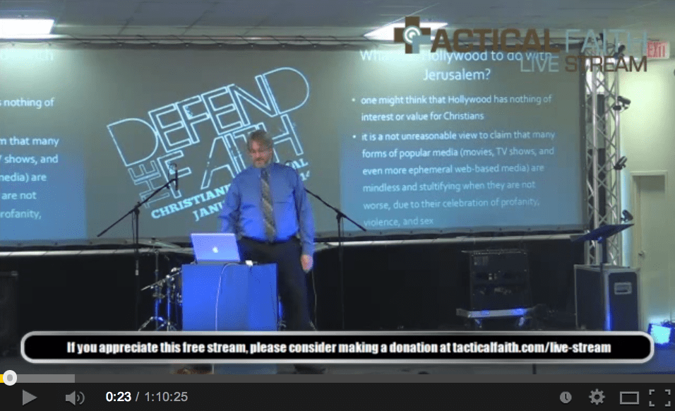 "Dr. David Calhoun – ""Signs of Grace in Contemporary Film."""