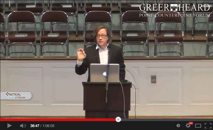 Tim Maudlin at Greer Heard